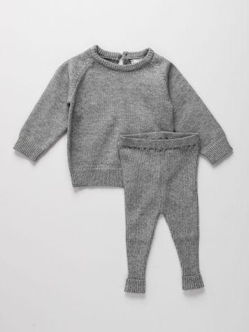 סט מכנס וחולצה סרוגים / 6M-5Y של TERMINAL X KIDS