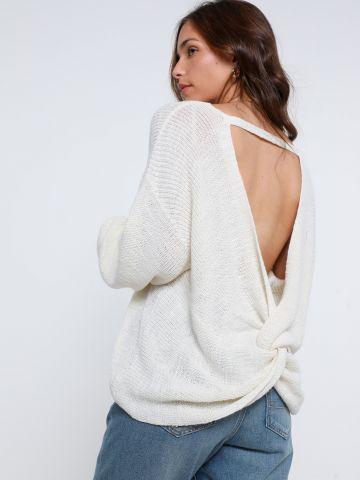 סוודר גב פתוח של AMERICAN EAGLE