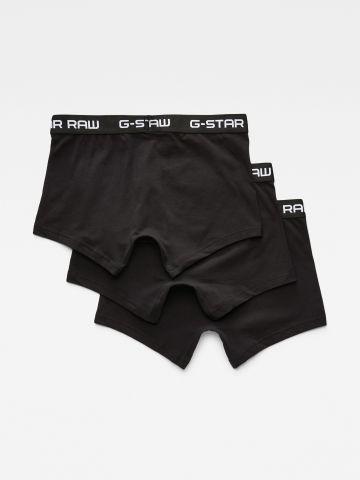 מארז 3 תחתוני בוקסר / גברים של G-STAR