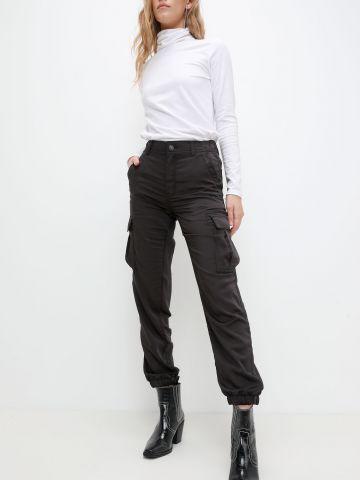 מכנסיים ארוכים עם כיסים של AMERICAN EAGLE