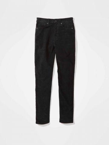 ג'ינס קורדורוי ארוך בגזרת Mom / נשים של AMERICAN EAGLE