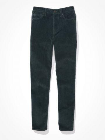 ג'ינס קורדרוי בגזרת Mom / נשים של AMERICAN EAGLE