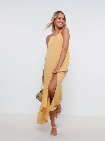 שמלת מקסי עם כתפיות חבל של YANGA