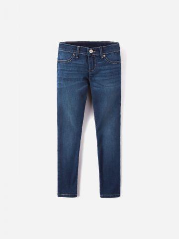 ג'ינס ארוך בשטיפה כהה / בנות של THE CHILDREN'S PLACE