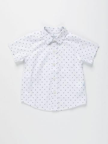 חולצה מכופתרת בהדפס / 9M-4Y של THE CHILDREN'S PLACE
