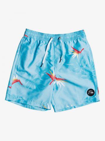 מכנסי בגד ים בהדפס פרחים / בנים של QUIKSILVER
