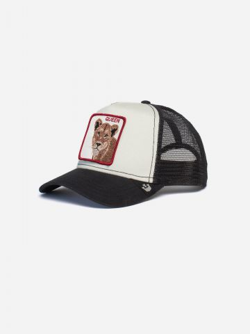 כובע מצחיה עם פאץ' נמר Queen / גברים של GOORIN BROS