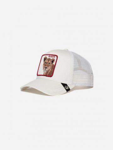 כובע מצחיה עם פאץ' נמר Queen / נשים של GOORIN BROS