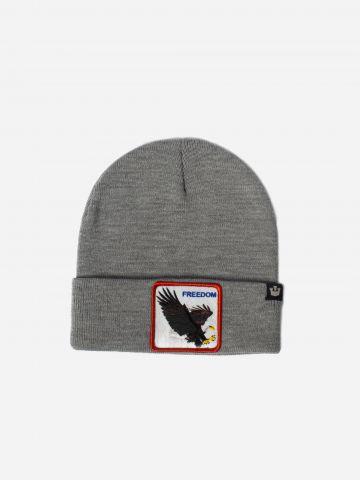 כובע גרב עם פאץ' נשר / גברים של GOORIN BROS