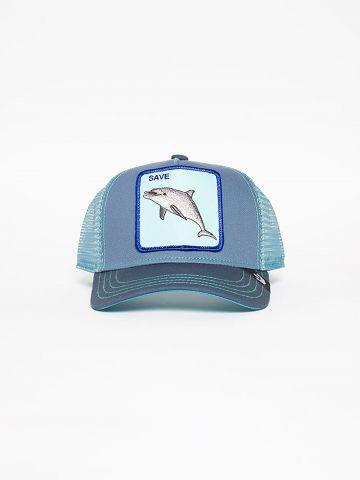 כובע מצחיה עם פאץ' דולפין / בנים של GOORIN BROS