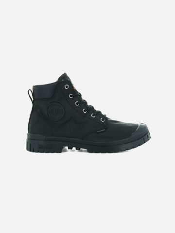 נעלי קנבס גבוהות Pampa Slim Cuff WP / גברים של PALLADIUM