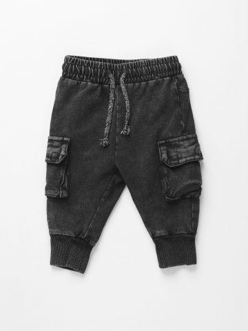 מכנסי טרנינג בסגנון דגמ״ח / 3M-3Y של FOX