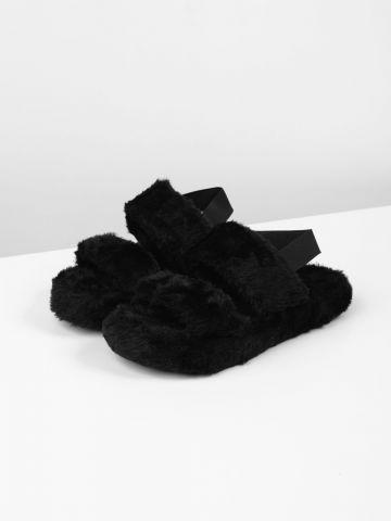 נעלי בית דמוי פרווה / נשים של TERMINAL X