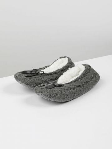נעלי בית סרוגות עם בטנה / נשים של TERMINAL X
