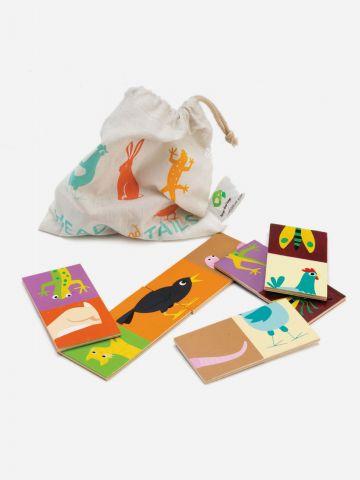 דומינו חיות מעץ / Tender Leaf Toys של TOYS