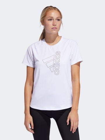 חולצת ספורט עם הדפס לוגו של ADIDAS Performance