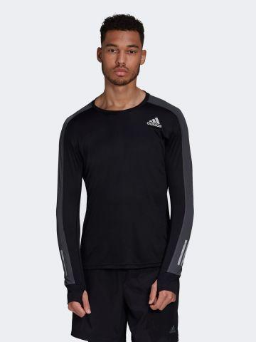 חולצת ריצה שרוולים ארוכים של ADIDAS Performance