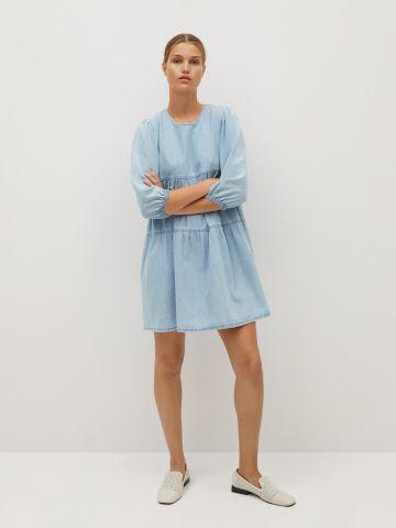 שמלת מיני ג'ינס קומות של MANGO