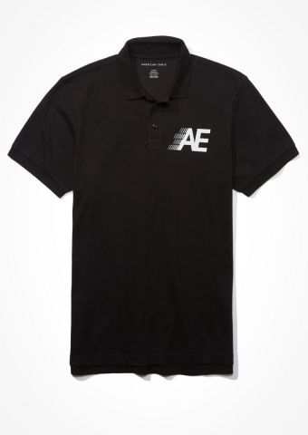 חולצת פולו עם לוגו / גברים של AMERICAN EAGLE