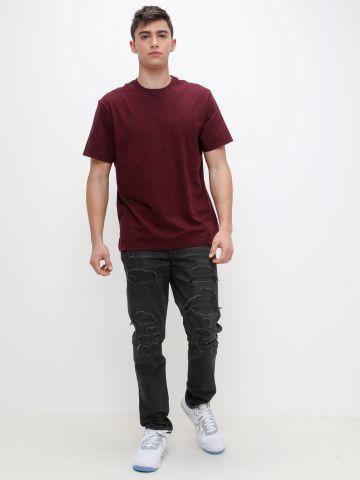 ג'ינס סלים עם קרעים של AMERICAN EAGLE