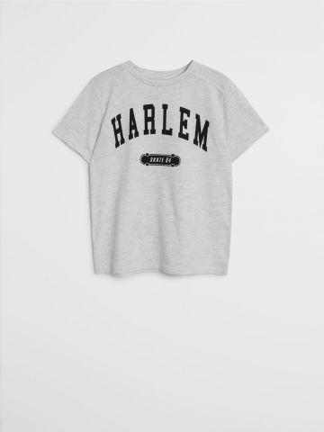 טי שירט עם הדפס Harlem / בנים של MANGO