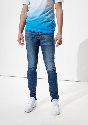 ג'ינס בשילוב שפשופים Slim Straight של AMERICAN EAGLE