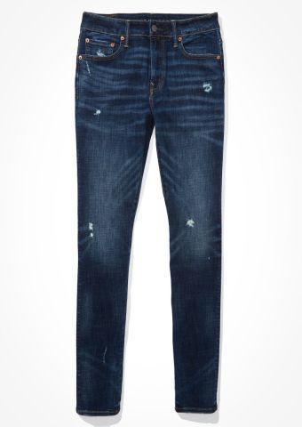 ג'ינס סקיני בשטיפה כהה / גברים של AMERICAN EAGLE