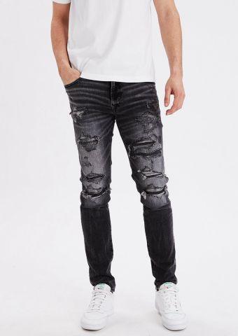 ג'ינס Slim עם קרעים של AMERICAN EAGLE