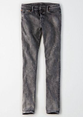 ג'ינס Skinny ווש עם שפשופים של AMERICAN EAGLE