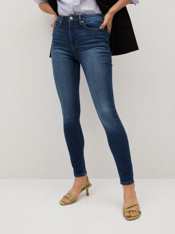 ג'ינס סקיני בגזרה גבוהה Soho של MANGO
