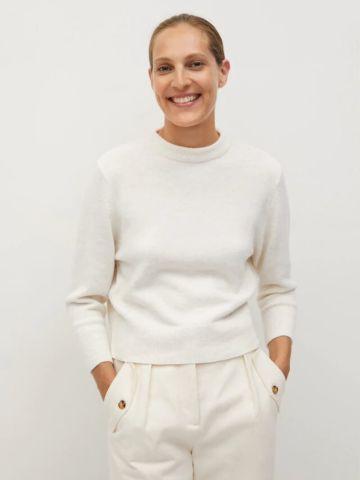 סוודר עם פתח בגב של MANGO
