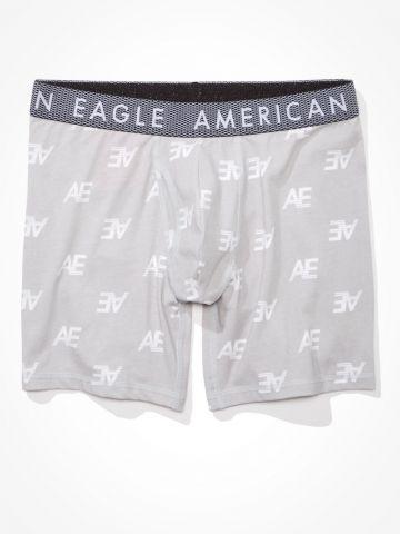 תחתוני בוקסר בהדפס לוגו / גברים של AMERICAN EAGLE