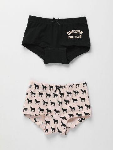 מארז זוג תחתונים בהדפסים שונים / בנות של FOX
