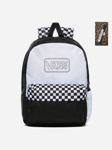 תיק גב קולור בלוק עם לוגו DIY Collection / נשים של VANS