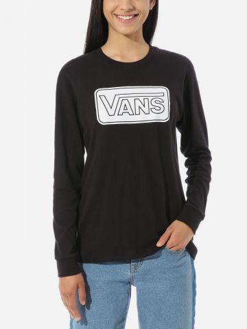 טי שירט עם לוגו של VANS