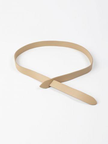 חגורה דמוי עור ללא אבזם / נשים של TERMINAL X