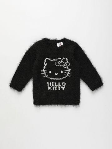 סוודר פלאפי בדוגמת הלו קיטי / 3M-3Y של FOX