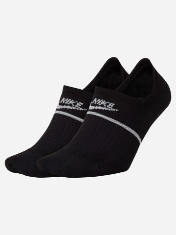 מארז 2 זוגות גרביים נמוכים SNKR Sox Essential של NIKE