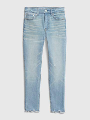 ג'ינס סקיני בשטיפה בהירה / בנות של GAP