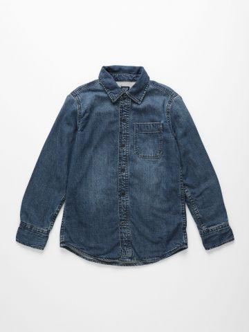חולצת ג'ינס מכופתרת / בנים של GAP