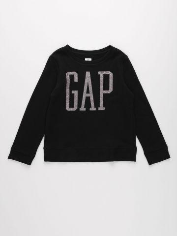 חולצה עם לוגו מנצנץ / בנות של GAP
