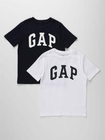מארז 2 טי שירט לוגו / בנים של GAP