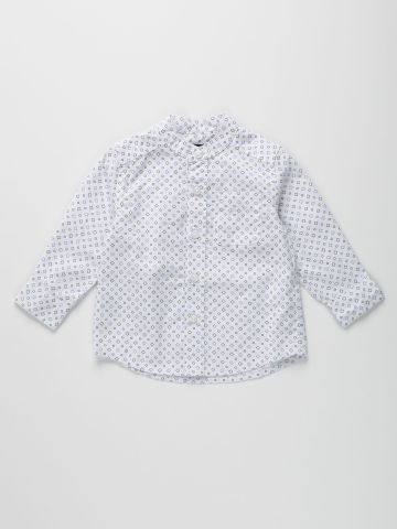 חולצה מכופתרת בהדפס צורות / 9M-4Y של THE CHILDREN'S PLACE