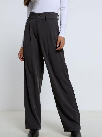 מכנסיים מחויטים בגזרה רחבה של TERMINAL X