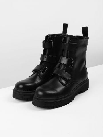 מגפיים גבוהים דמוי עור / נשים של TERMINAL X