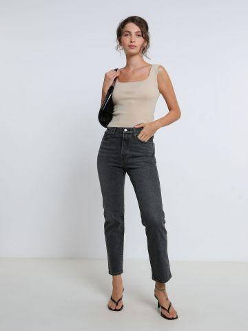ג'ינס ישר Wedgie של LEVIS