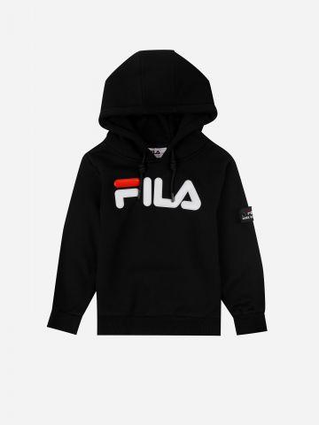 סוושטריט קפו'צון עם לוגו / בנים של FILA