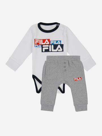 סט בגד גוף ומכנסיים עם לוגו / N.B-12M של FILA