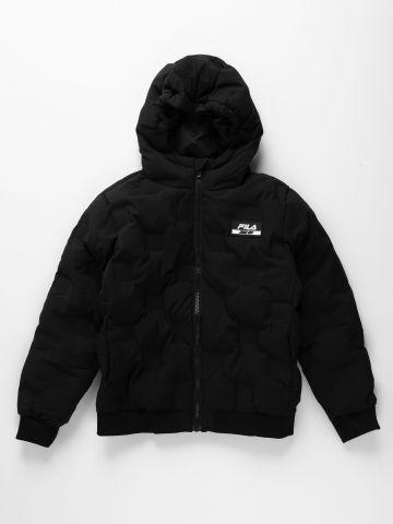 מעיל עם פאץ' לוגו / בנים של FILA