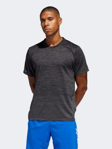 חולצת אימון בצביעת מלאנז' של ADIDAS Performance